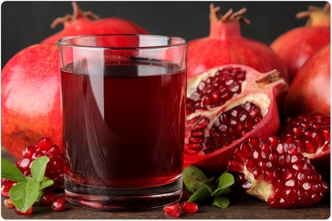 Pomegranate juice can be subject to fraud