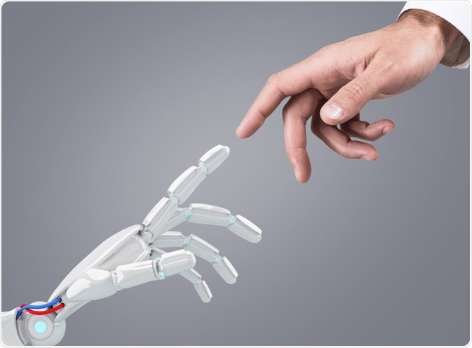 Cobots are designed to work alongside human researchers, whereas robots provide fully automated solutions.