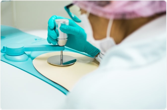 Chemist testing raw material with FTIR spectrometer, quality control laboratory in pharmaceutical industry. - Image Credit: SUKJAI PHOTO / Shutterstock