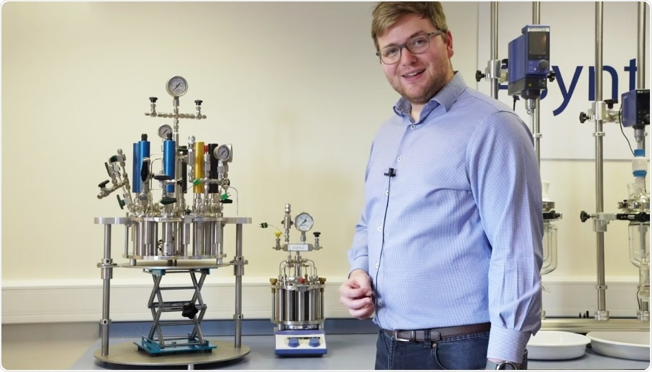 Asynt offers a flexible device for screening chemical reactions under high pressure