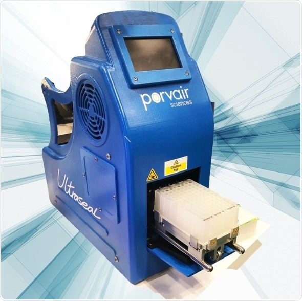 Automated tube rack & microplate sealer