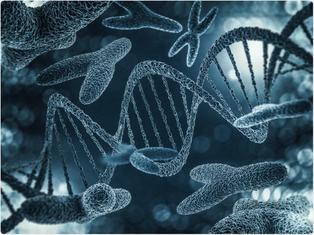 Genetic Mutation Concept