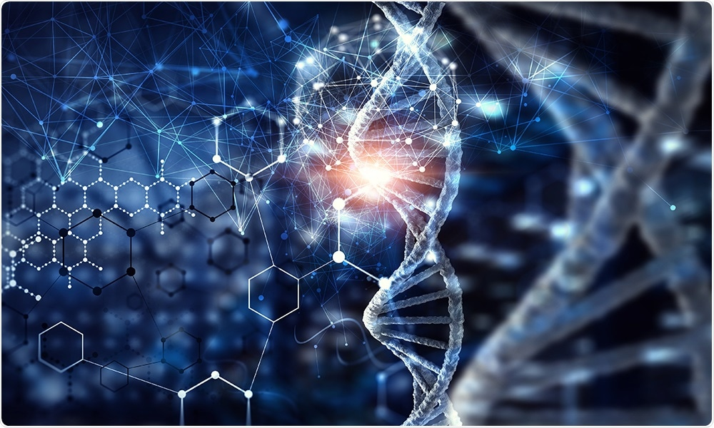 Protein glycosylation plays a major role in DNA methylation