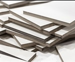 Sustainable method for manufacturing composite fiberboard