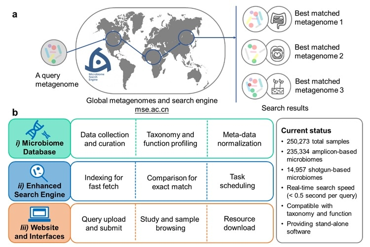 New search engine helps compare samples in different microbiomes
