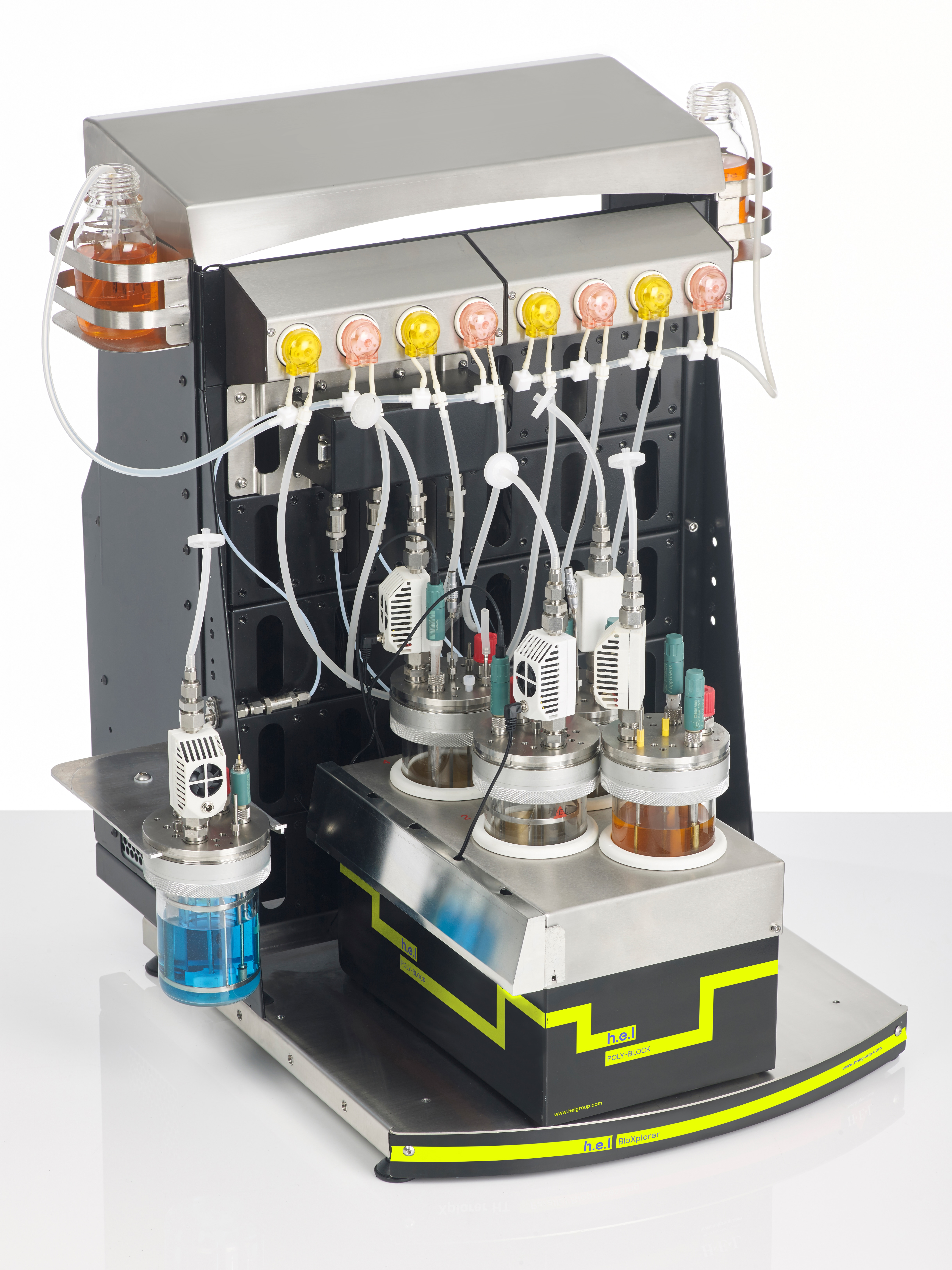 BioXplorer 400: Bench-top, 4 Bioreactor, Automated Parallel Biotechnology Platform