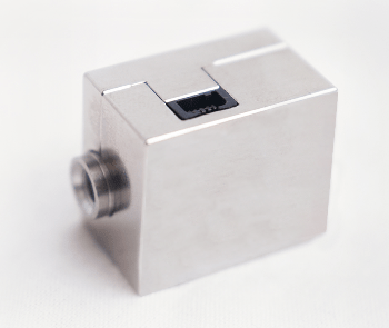 LVI sensor: Miniaturized thru-flow sensor