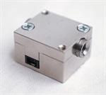 DFI sensor: Miniaturized thru-flow sensor with zero dead volume