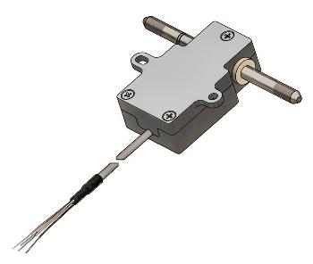 HB thru-flow sensor for high-pressure applications