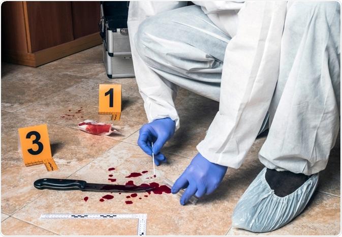 DNA Evidence at Crime Scene