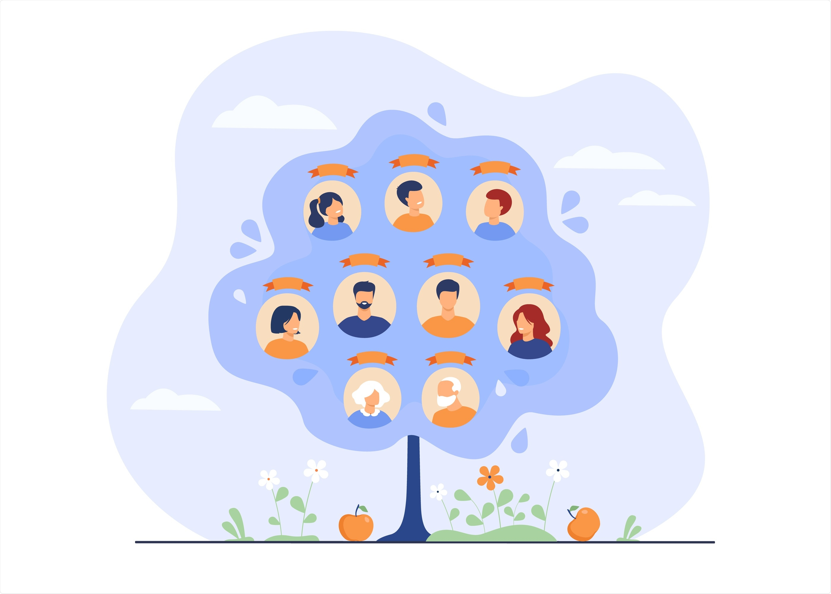 Family History Concept
