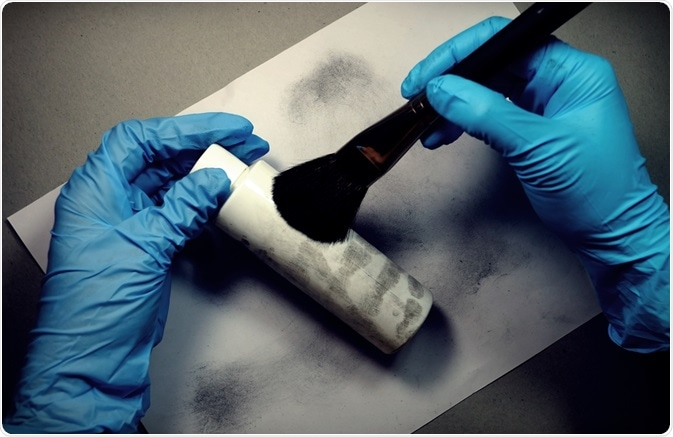 Fingerprints at Crime Scene